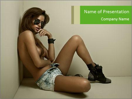 Fashion woman PowerPoint Templates