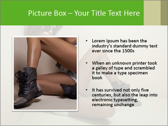 Fashion woman PowerPoint Template - Slide 13