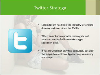 Fashion woman PowerPoint Template - Slide 9
