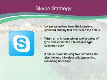 Scenic fjord on Lofoten islands PowerPoint Template - Slide 8