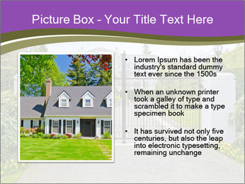 Big luxury custom made house PowerPoint Templates - Slide 13