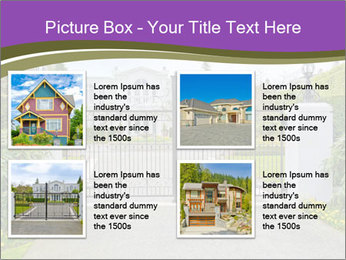 Big luxury custom made house PowerPoint Templates - Slide 14