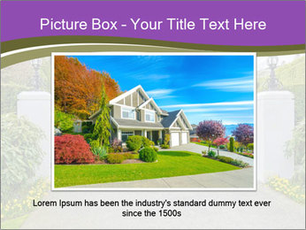 Big luxury custom made house PowerPoint Templates - Slide 15