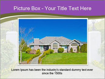 Big luxury custom made house PowerPoint Templates - Slide 16