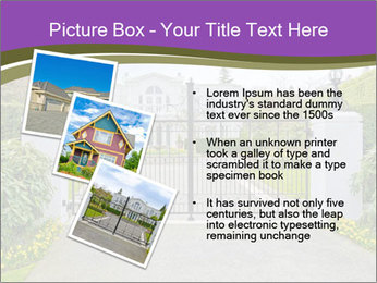 Big luxury custom made house PowerPoint Templates - Slide 17