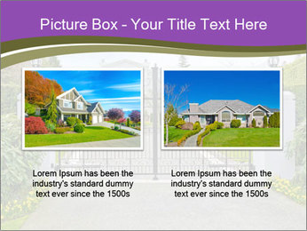 Big luxury custom made house PowerPoint Templates - Slide 18