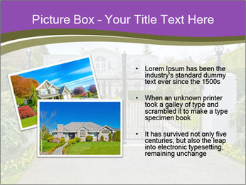 Big luxury custom made house PowerPoint Templates - Slide 20