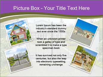 Big luxury custom made house PowerPoint Templates - Slide 24