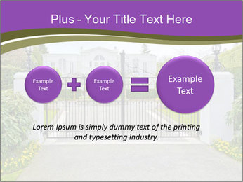 Big luxury custom made house PowerPoint Templates - Slide 75