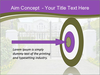 Big luxury custom made house PowerPoint Templates - Slide 83