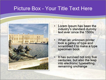 Versailles castle near Paris PowerPoint Templates - Slide 13