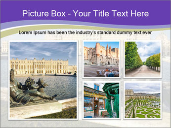 Versailles castle near Paris PowerPoint Templates - Slide 19