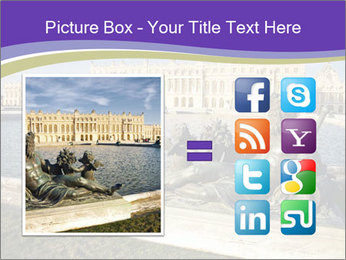 Versailles castle near Paris PowerPoint Templates - Slide 21