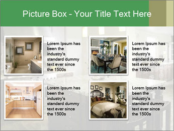 Kitchen Interior Home PowerPoint Templates - Slide 14