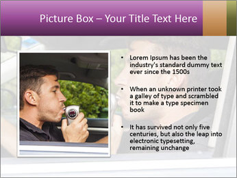 Man in car blowing PowerPoint Templates - Slide 13