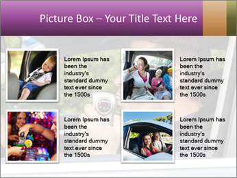Man in car blowing PowerPoint Templates - Slide 14