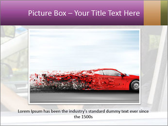 Man in car blowing PowerPoint Templates - Slide 15