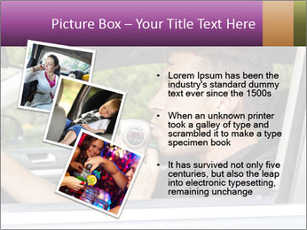 Man in car blowing PowerPoint Templates - Slide 17