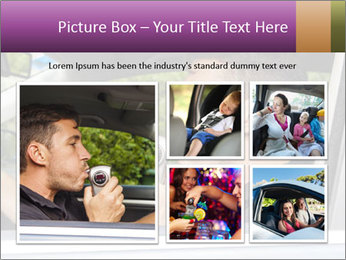 Man in car blowing PowerPoint Templates - Slide 19