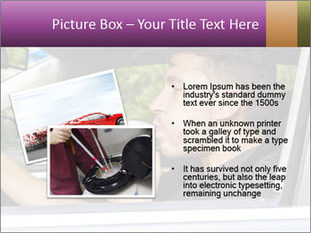 Man in car blowing PowerPoint Templates - Slide 20