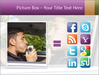 Man in car blowing PowerPoint Templates - Slide 21