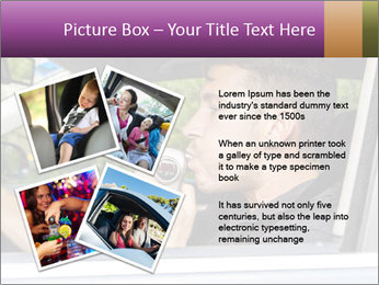 Man in car blowing PowerPoint Templates - Slide 23