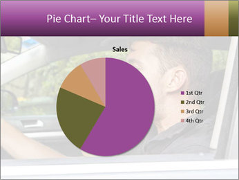Man in car blowing PowerPoint Templates - Slide 36