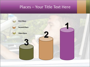 Man in car blowing PowerPoint Templates - Slide 65