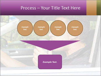 Man in car blowing PowerPoint Templates - Slide 93