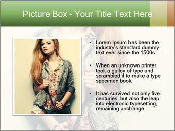 A photo of beautiful girl PowerPoint Templates - Slide 13