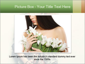 A photo of beautiful girl PowerPoint Templates - Slide 15