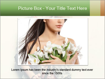 A photo of beautiful girl PowerPoint Templates - Slide 16