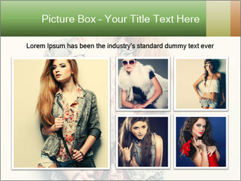 A photo of beautiful girl PowerPoint Templates - Slide 19