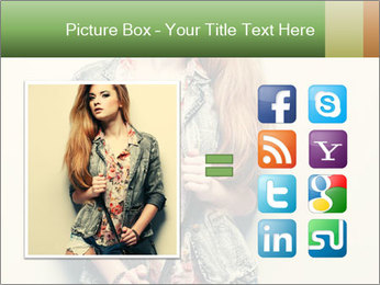 A photo of beautiful girl PowerPoint Templates - Slide 21