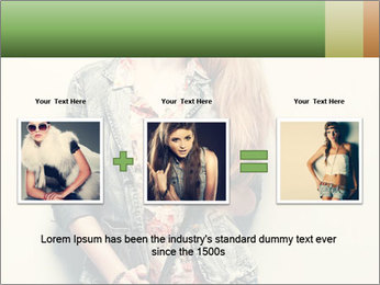 A photo of beautiful girl PowerPoint Templates - Slide 22