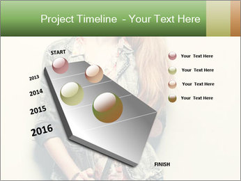 A photo of beautiful girl PowerPoint Templates - Slide 26