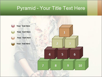 A photo of beautiful girl PowerPoint Templates - Slide 31