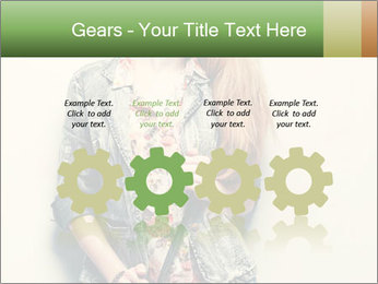 A photo of beautiful girl PowerPoint Templates - Slide 48