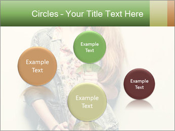 A photo of beautiful girl PowerPoint Templates - Slide 77
