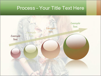 A photo of beautiful girl PowerPoint Templates - Slide 87