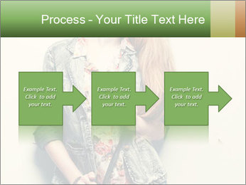A photo of beautiful girl PowerPoint Templates - Slide 88