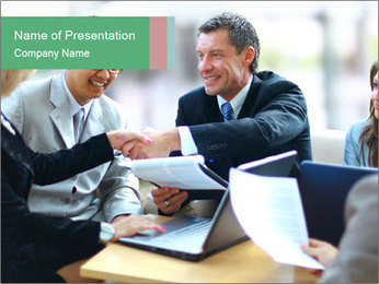 Business meeting PowerPoint Templates - Slide 1
