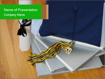 Diploma PowerPoint Templates - Slide 1