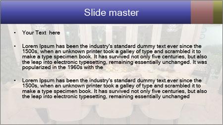 Family dinner PowerPoint Template - Slide 2