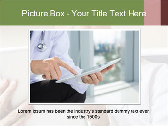 Close up of mature male doctor PowerPoint Templates - Slide 16