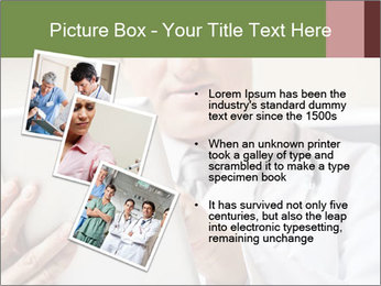 Close up of mature male doctor PowerPoint Templates - Slide 17