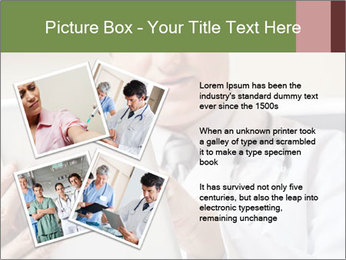 Close up of mature male doctor PowerPoint Templates - Slide 23
