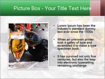 Two glasses of beer PowerPoint Template - Slide 13