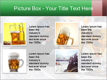 Two glasses of beer PowerPoint Template - Slide 14