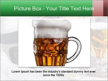 Two glasses of beer PowerPoint Template - Slide 15